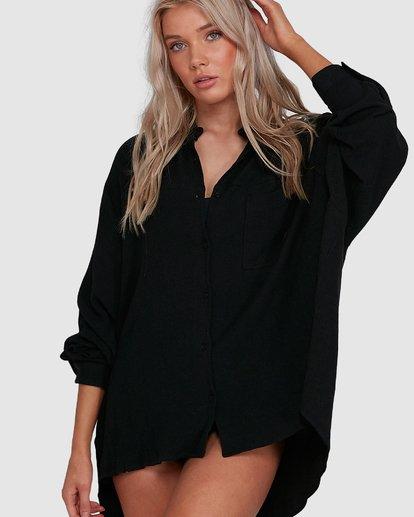4 Strangers Shirt Black 6591105 Billabong