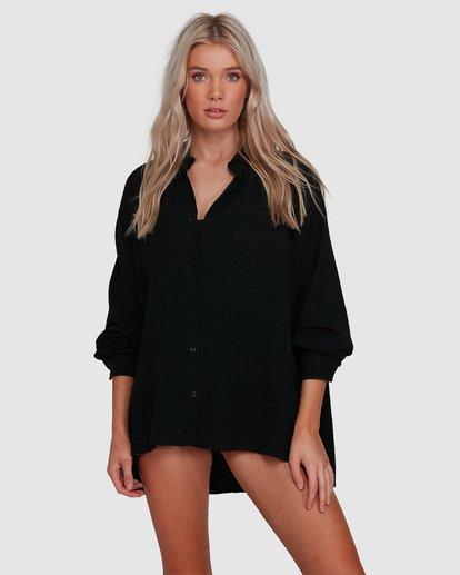1 Strangers Shirt Black 6591105 Billabong