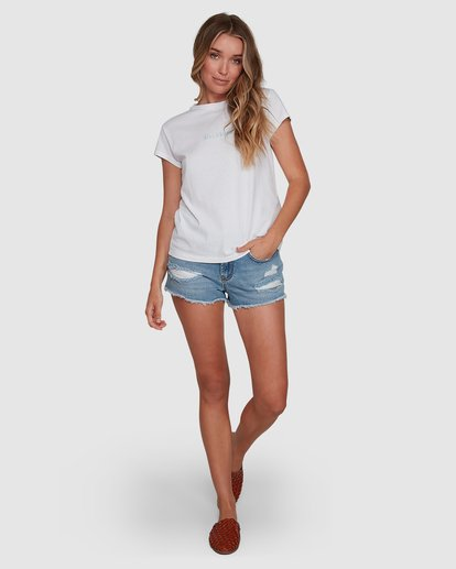 6 Changes Tee White 6591132 Billabong