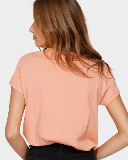 3 CHANGES TEE Beige 6591132 Billabong