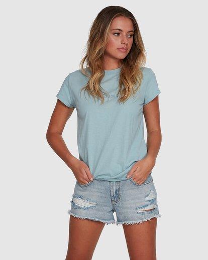 1 Changes Short Sleeve Tee Blue 6591132 Billabong