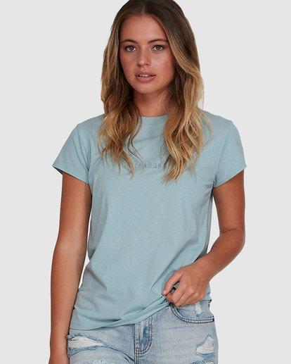0 Changes Short Sleeve Tee Blue 6591132 Billabong