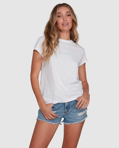 1 Changes Tee White 6591132 Billabong