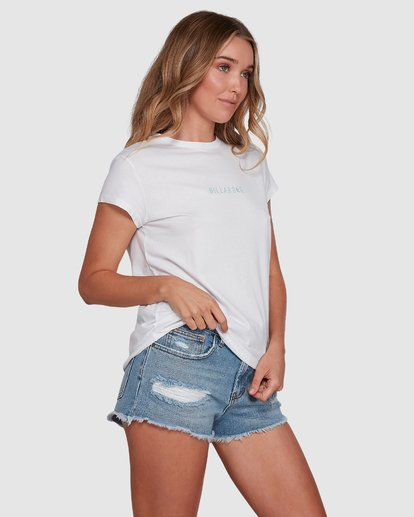 2 Changes Tee White 6591132 Billabong