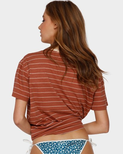 3 Sun Slumber Tee Brown 6591135 Billabong