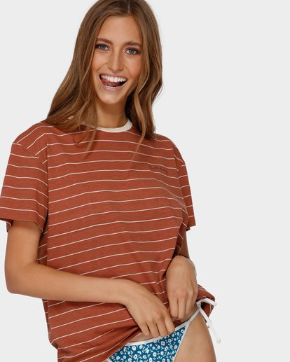1 Sun Slumber Tee Brown 6591135 Billabong