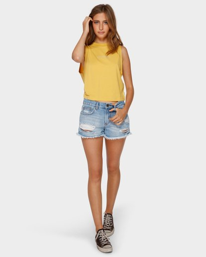 4 CHANGES CROP MUSCLE Yellow 6591138 Billabong