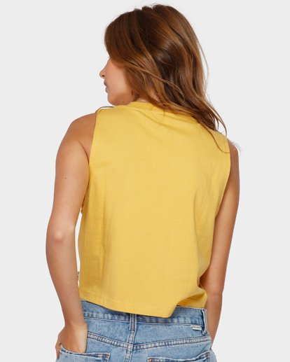 3 CHANGES CROP MUSCLE Yellow 6591138 Billabong
