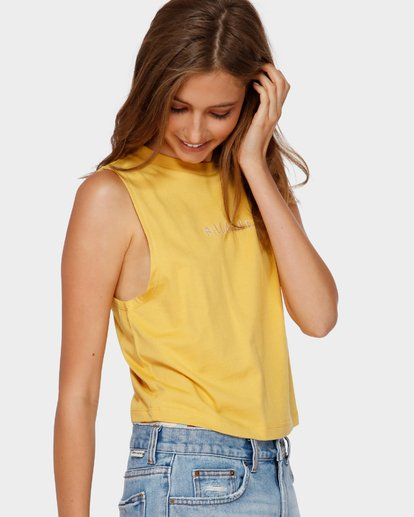 2 CHANGES CROP MUSCLE Yellow 6591138 Billabong