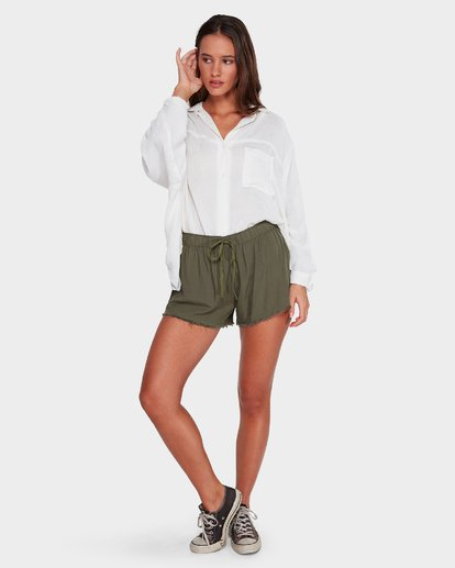 6 Salt Wrecked Shorts Green 6591276 Billabong