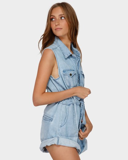 2 Blue Bay Romper Blue 6591279 Billabong