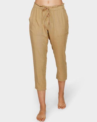 4 Summer Storm Pants Beige 6591404 Billabong