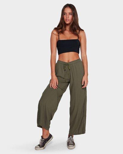 6 Salty Tides Pants Green 6591406 Billabong