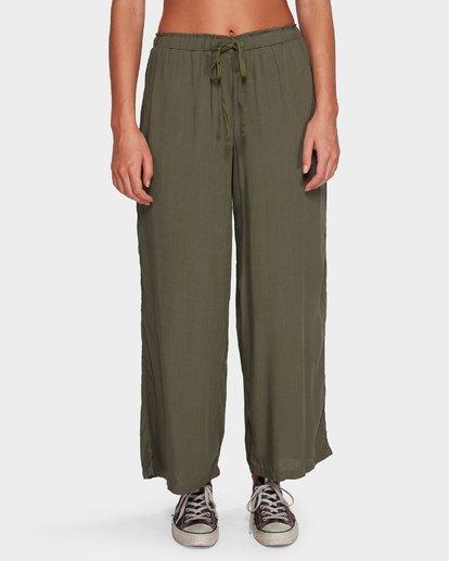 3 Salty Tides Pants Green 6591406 Billabong