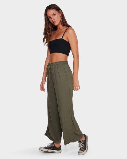 1 Salty Tides Pants Green 6591406 Billabong