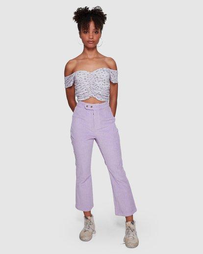 9 JAGGER CORD PANT Purple 6591421M Billabong