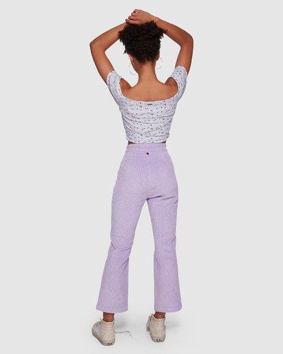3 JAGGER CORD PANT Purple 6591421M Billabong