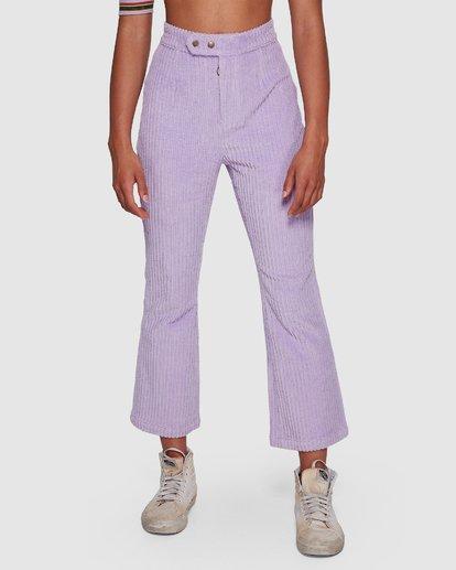 4 JAGGER CORD PANT Purple 6591421M Billabong