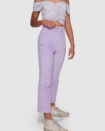 6 JAGGER CORD PANT Purple 6591421M Billabong