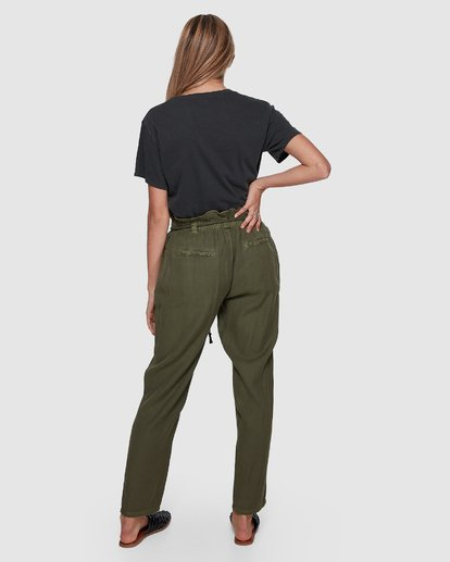 2 DESERT ADVENTURE PANTS Green 6591422X Billabong