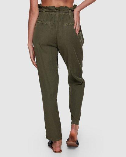 4 DESERT ADVENTURE PANTS Green 6591422X Billabong