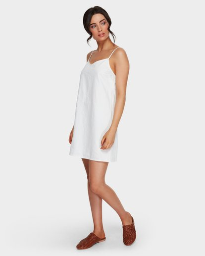 4 CANDY DRESS CLOUD White 6591472 Billabong