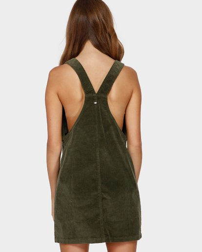 3 MANNIX CORD DRESS Green 6591475 Billabong