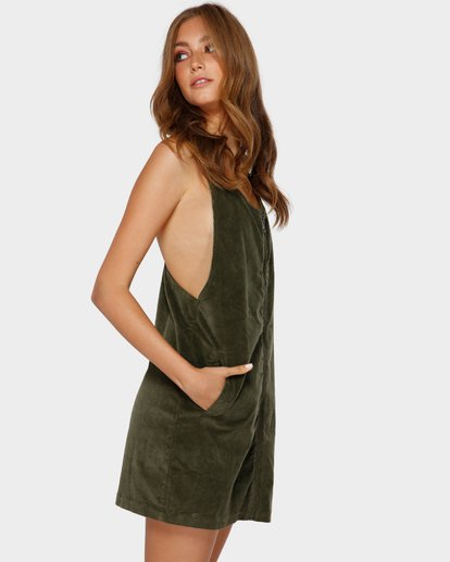 2 MANNIX CORD DRESS Green 6591475 Billabong
