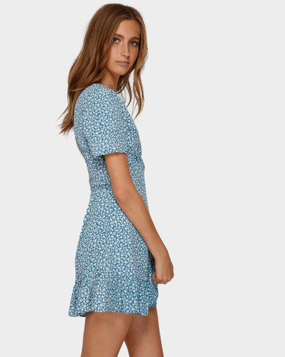 2 FLORIDA WRAP DRESS Blue 6591477 Billabong