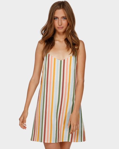 1 Summer Love Fiesta Dress White 6591482 Billabong