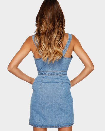 3 Coastline Dance Dress Blue 6591490 Billabong