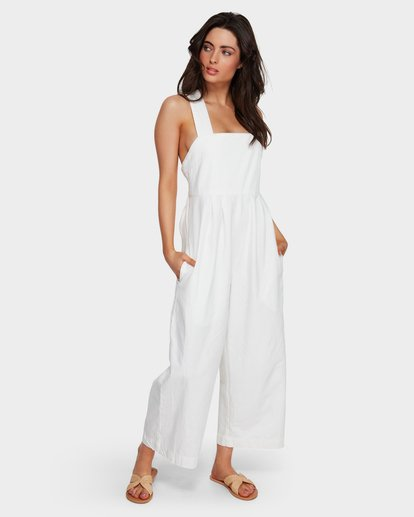 1 Vacation Jumpsuit White 6591501 Billabong