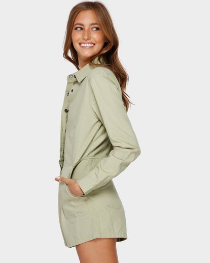 1 GIGI TWILL PLAYSU Green 6591503 Billabong