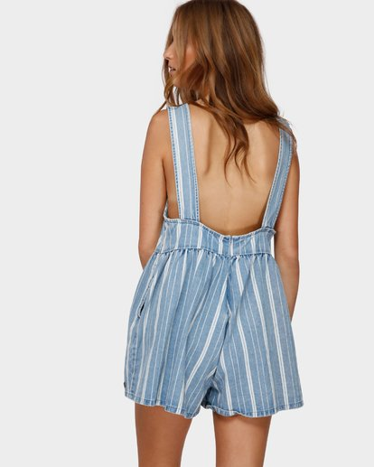 3 CABO CAPRI JUMPSUIT Blue 6591506 Billabong