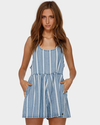 1 CABO CAPRI JUMPSUIT Blue 6591506 Billabong