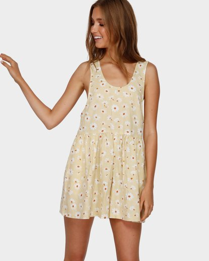1 CABO DEL SOL PLAYSUIT Yellow 6591509 Billabong