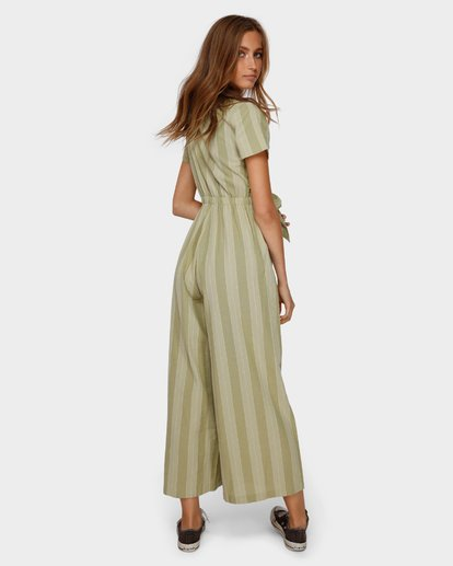 3 IVY STRIPE JUMPSUIT Green 6591511 Billabong