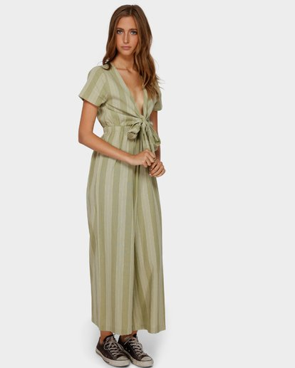 2 IVY STRIPE JUMPSUIT Green 6591511 Billabong