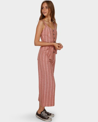 2 CROSSFIRE STRIPE JUMPSUIT Orange 6591512 Billabong