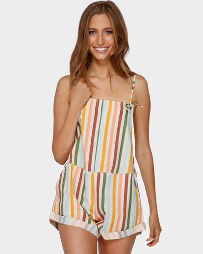 1 FIESTA OVERALLS White 6591513 Billabong