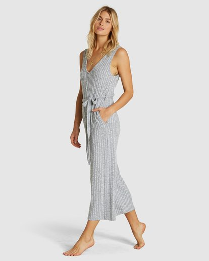 0 Wipe Out Jumpsuit Grey 6591519X Billabong