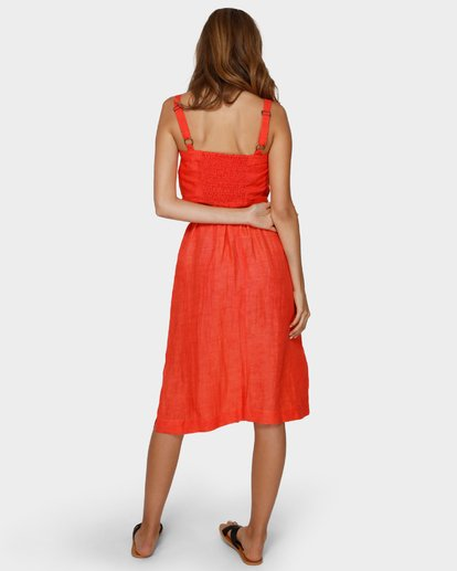 3 ALHAMBRA MIDI SKIRT Orange 6591521 Billabong