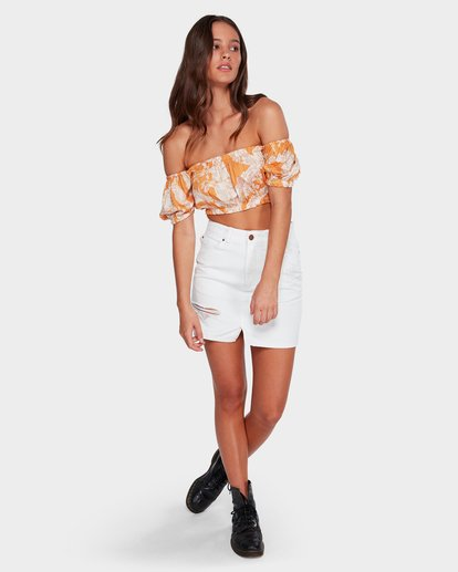 6 Black Magic Skirt White 6591524 Billabong