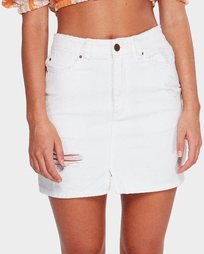 3 Black Magic Skirt White 6591524 Billabong