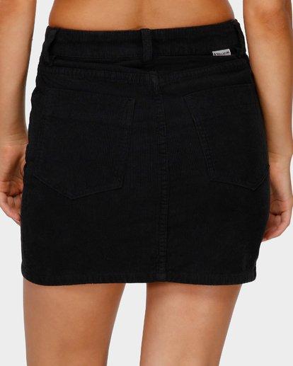 6 Good Life Cord Skirt Black 6591525 Billabong