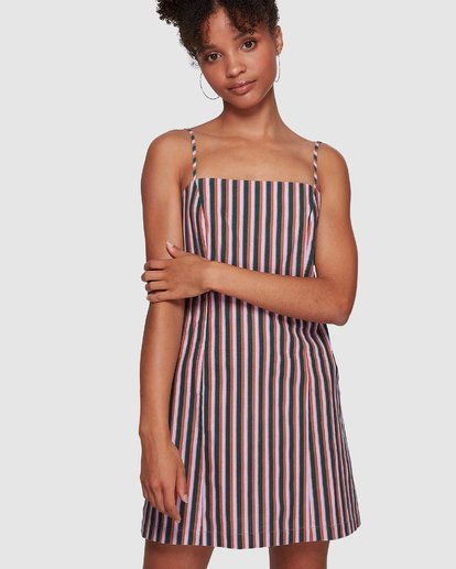 5 LAVENDER LOVE STRIPE DRESS Purple 6591535M Billabong