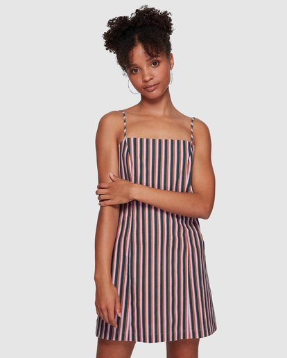 2 LAVENDER LOVE STRIPE DRESS Purple 6591535M Billabong