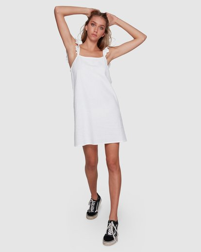 5 Millie Dress White 6591538M Billabong