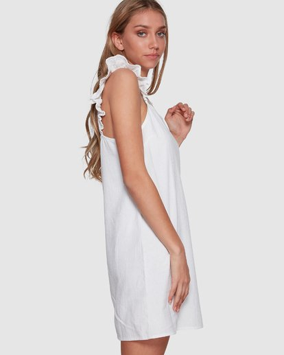 1 Millie Dress White 6591538M Billabong