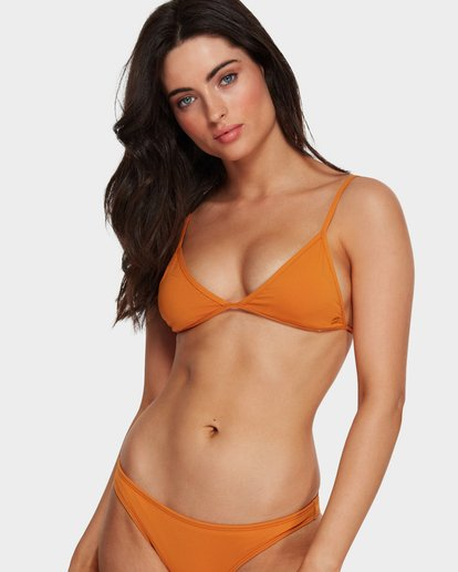 0 Sol Searcher Skimpy Tri Bikini Top Grey 6591567 Billabong